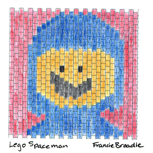 Lego Spaceman Square