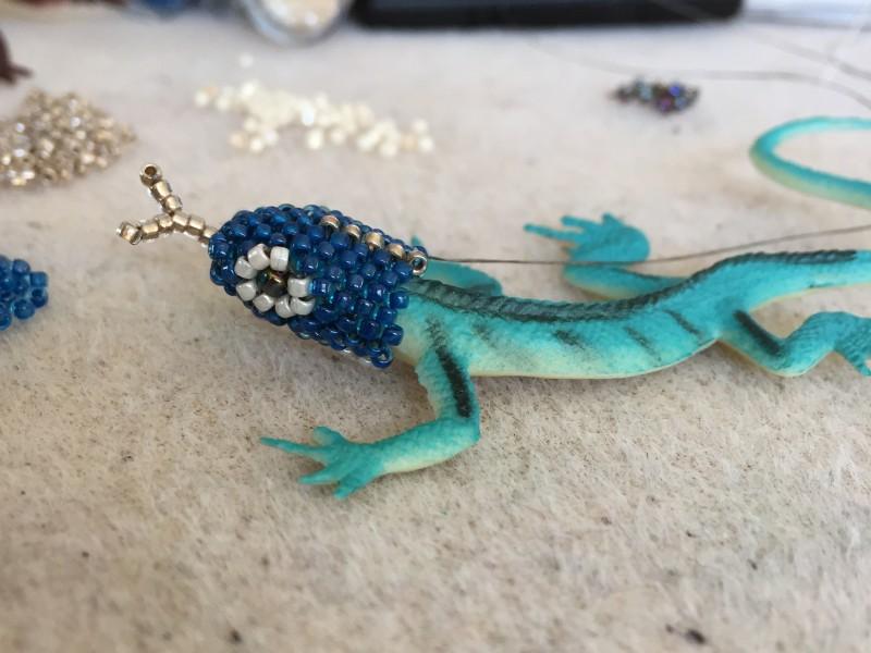 Blue-Lizard-in-progress