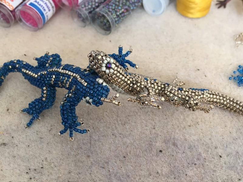 Lizard-Battle